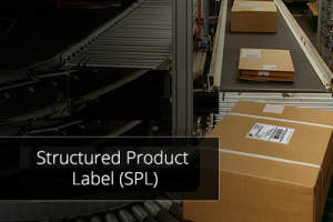 structured product label