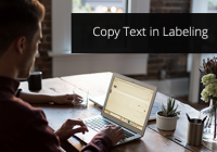 Copy Text in Labeling