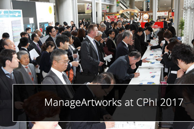 ManageArtworks at CPhI 2017