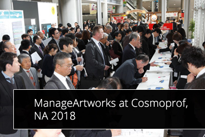 ManageArtworks will be exhibiting at Cosmoprof, NA 2018