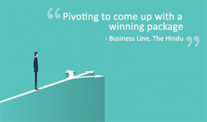 Pivoting to come up with a winning package