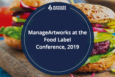 ManageArtworks at the Food Label Conference, 2019